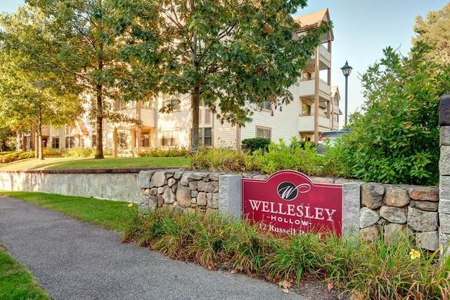 12 Russell Road #307, Wellesley, MA 02482 (MLS #72792906) :: Boston Area Home Click