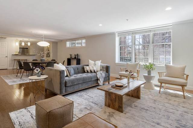 1 Russell Street #107, Cambridge, MA 02140 (MLS #72803393) :: The Seyboth Team