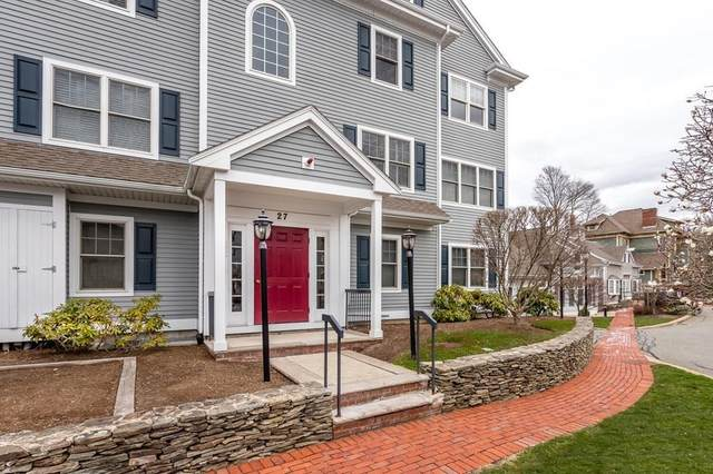 27 Maple F, Canton, MA 02021 (MLS #72812713) :: Charlesgate Realty Group