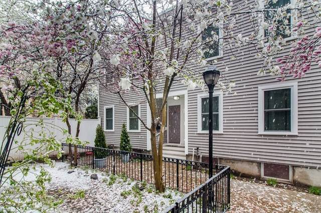 1-6 Mullins Court #6, Cambridge, MA 02141 (MLS #72817823) :: The Seyboth Team