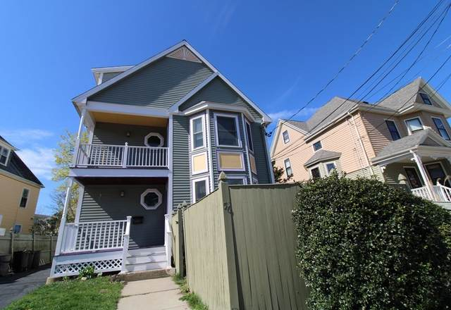 56 Hewlett St #1, Boston, MA 02131 (MLS #72817927) :: RE/MAX Vantage