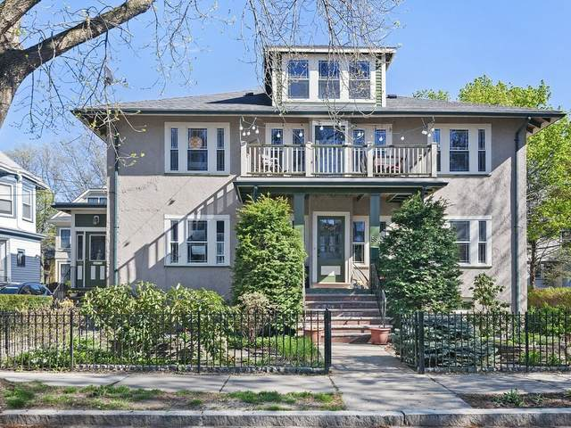 56 Verndale #56, Brookline, MA 02446 (MLS #72821422) :: Boston Area Home Click