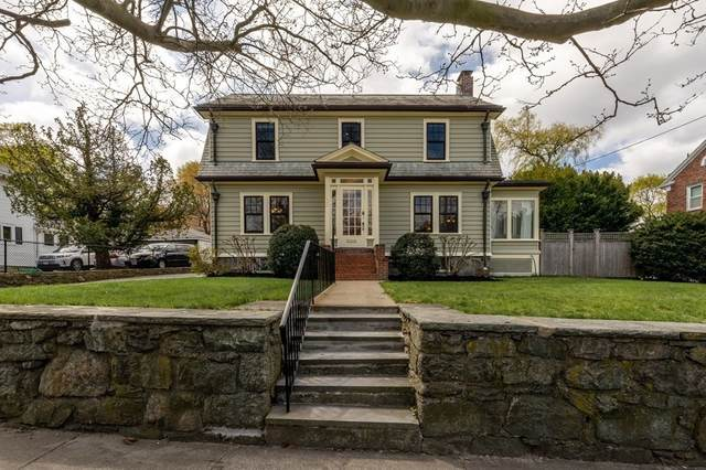 668 Newton Street, Brookline, MA 02467 (MLS #72821966) :: The Gillach Group