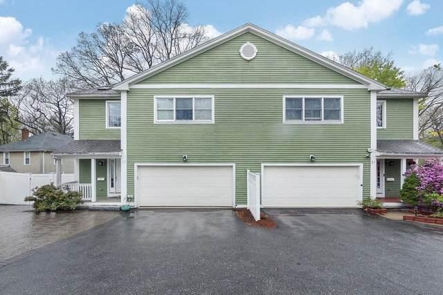 21 Carthay  Circle #21, Newton, MA 02461 (MLS #72829596) :: Boston Area Home Click