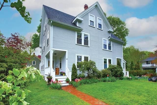 45 Elmore Street #45, Newton, MA 02459 (MLS #72829962) :: Boston Area Home Click