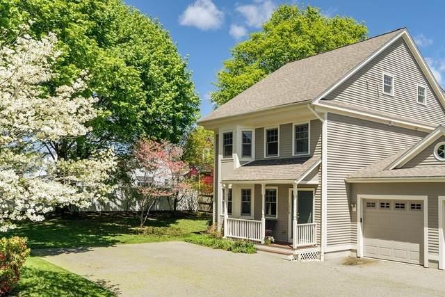 240 Nevada St A, Newton, MA 02460 (MLS #72829976) :: Boston Area Home Click