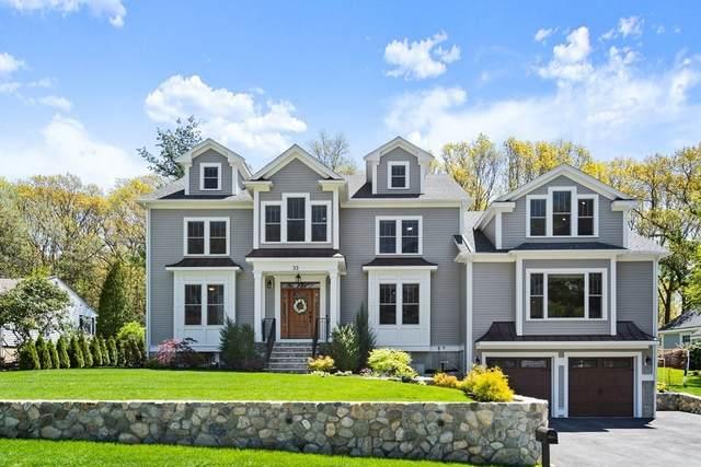 33 Birch Hill Road, Belmont, MA 02478 (MLS #72830083) :: Spectrum Real Estate Consultants