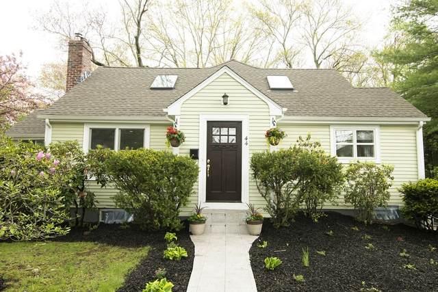 44 Hunnewell Street, Needham, MA 02494 (MLS #72830236) :: Boston Area Home Click