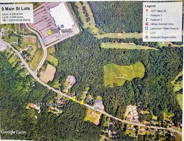 0 Main St - Lot A, Leicester, MA 01524 (MLS #72832431) :: Spectrum Real Estate Consultants