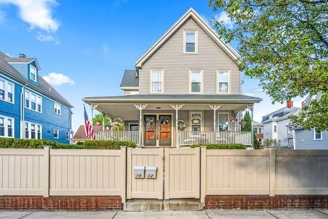 14 Webster Place #14, Malden, MA 02148 (MLS #72833621) :: East Group, Engel & Völkers