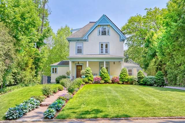 20 Oakland Ave, Newton, MA 02466 (MLS #72835410) :: Chart House Realtors