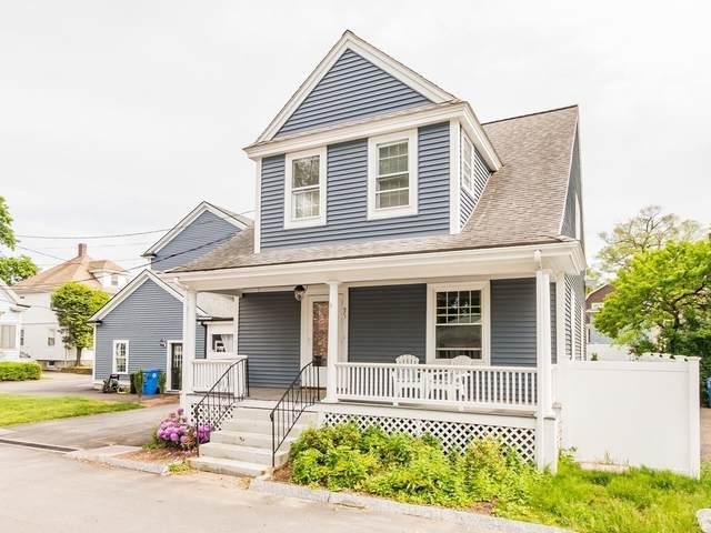 9 Grant Pl #1, Waltham, MA 02451 (MLS #72843060) :: Conway Cityside