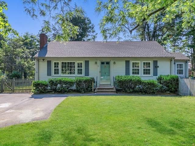 37 Vine Rock St, Dedham, MA 02026 (MLS #72845930) :: Spectrum Real Estate Consultants