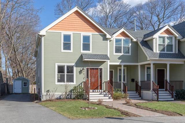 19 Meredith Ave #19, Newton, MA 02461 (MLS #72850213) :: Conway Cityside