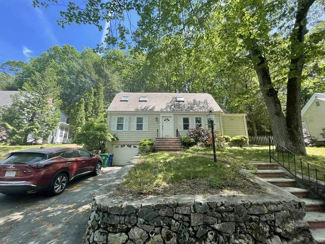 145 Pond Brook Road, Newton, MA 02467 (MLS #72852116) :: The Gillach Group