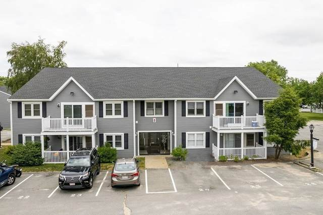 450 Somerset Ave #407, Taunton, MA 02780 (MLS #72854390) :: East Group, Engel & Völkers