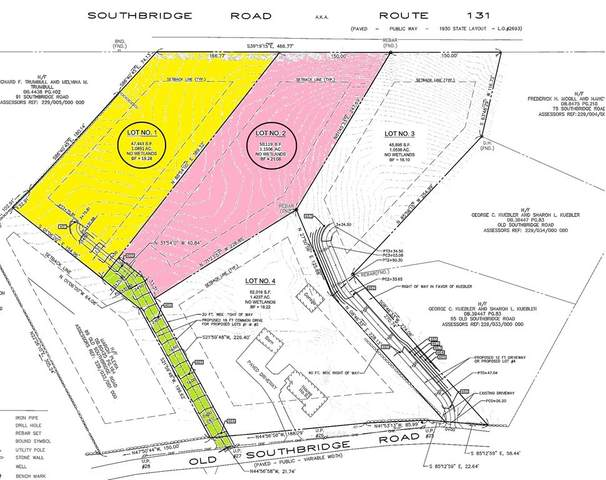 Lot 1 & 2 Old Southbridge Rd, Dudley, MA 01571 (MLS #72859589) :: RE/MAX Vantage