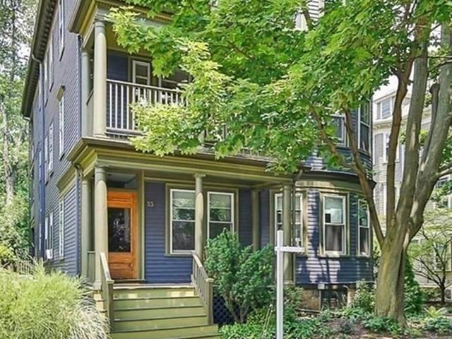 33 Stanton Rd #2, Brookline, MA 02445 (MLS #72863498) :: The Gillach Group
