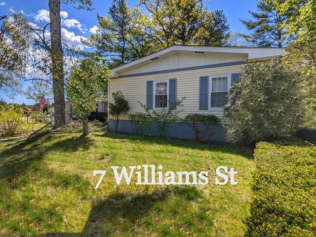 7 Williams St, Carver, MA 02330 (MLS #72866374) :: Home And Key Real Estate