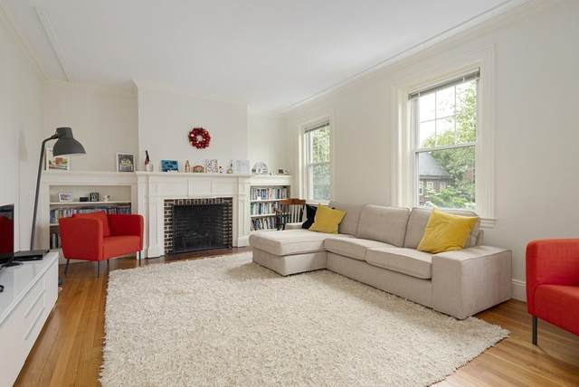 132 Sewall Ave C, Brookline, MA 02446 (MLS #72871794) :: The Gillach Group