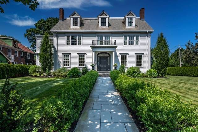 1005 Centre St, Newton, MA 02459 (MLS #72872268) :: The Ponte Group