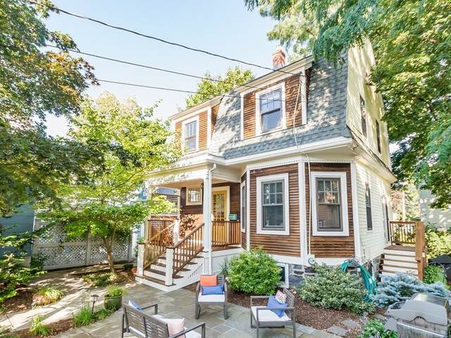 53-A Dartmouth St, Belmont, MA 02478 (MLS #72891605) :: The Seyboth Team