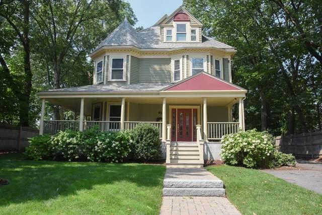91 Walker Street #91, Newton, MA 02460 (MLS #72892985) :: Charlesgate Realty Group