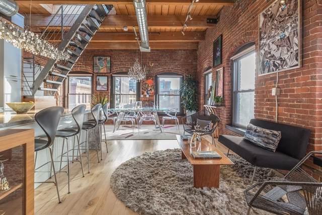 21 Wormwood St #623, Boston, MA 02210 (MLS #72894585) :: Welchman Real Estate Group