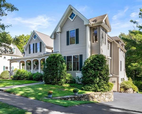 54 Pleasant St #54, Needham, MA 02492 (MLS #72898155) :: The Gillach Group