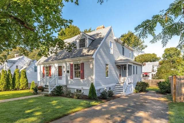 106 George St, Arlington, MA 02476 (MLS #72898355) :: The Gillach Group