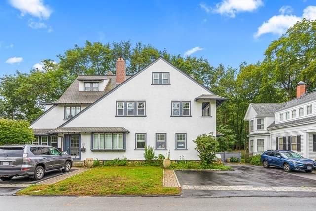 14 Weston Road #2, Wellesley, MA 02482 (MLS #72900289) :: Spectrum Real Estate Consultants
