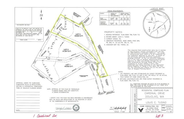 1 Cardinal Dr, Douglas, MA 01516 (MLS #71955509) :: Westcott Properties