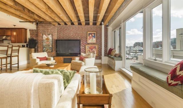 33 Commercial Wharf #1, Boston, MA 02110 (MLS #72256307) :: Goodrich Residential
