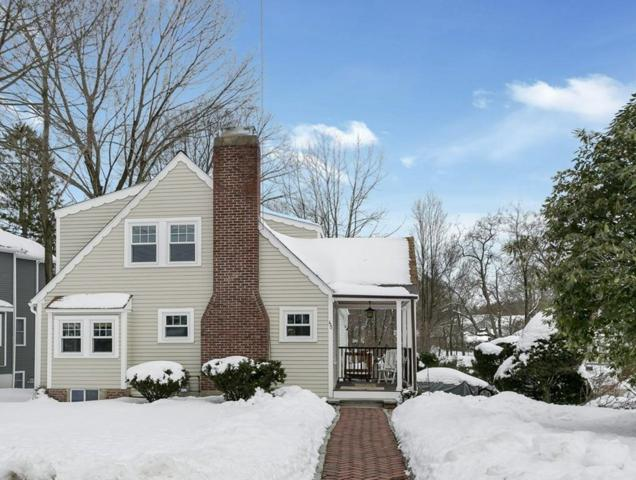 45 Atwood Street, Wellesley, MA 02482 (MLS #72294998) :: The Gillach Group