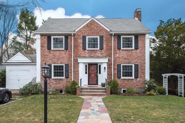 42 Ogden Rd, Brookline, MA 02467 (MLS #72310302) :: Commonwealth Standard Realty Co.