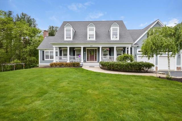 245 Bay Rd, Easton, MA 02356 (MLS #72326370) :: Lauren Holleran & Team
