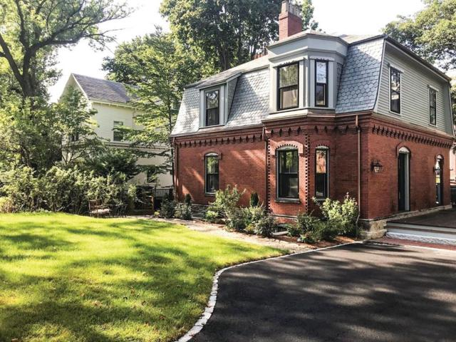 195 Walnut St, Brookline, MA 02445 (MLS #72395162) :: The Gillach Group