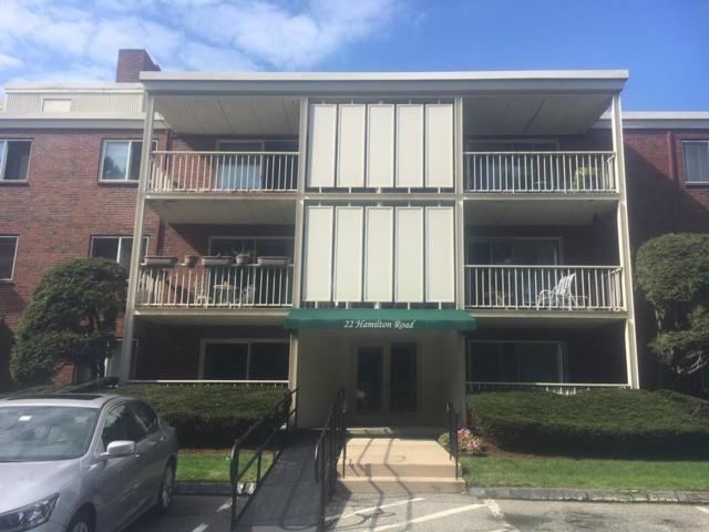 22 Hamilton Road #105, Arlington, MA 02474 (MLS #72398842) :: Local Property Shop