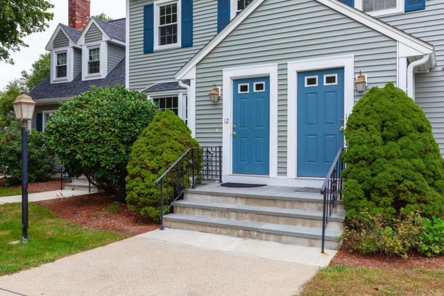 12 Daniel Dr #12, Easton, MA 02356 (MLS #72401350) :: The Muncey Group