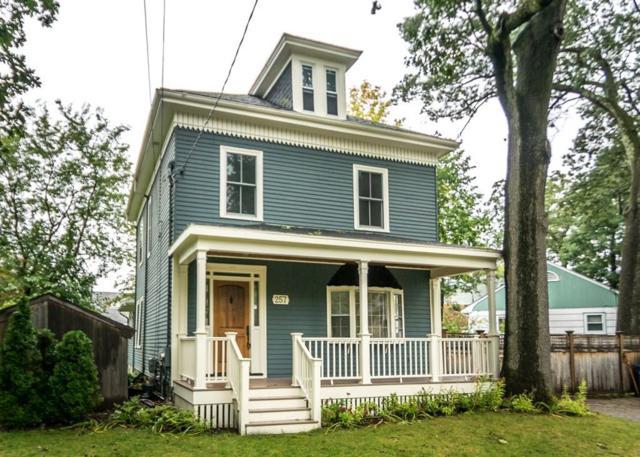 257 Auburndale Ave, Newton, MA 02466 (MLS #72405155) :: Local Property Shop