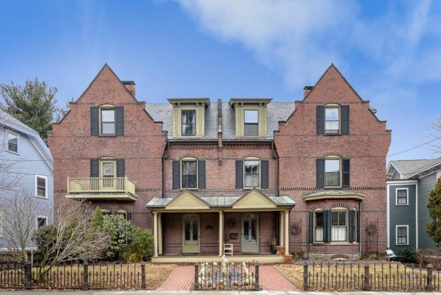 169 Walnut St #1, Brookline, MA 02445 (MLS #72454708) :: Vanguard Realty
