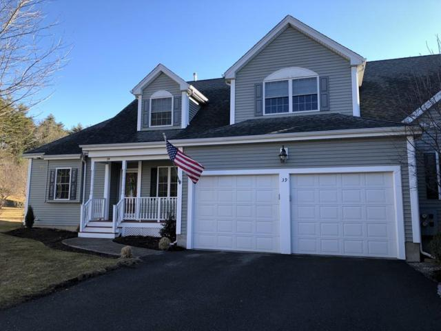 39 Rockville Meadows #39, Millis, MA 02054 (MLS #72463591) :: Trust Realty One