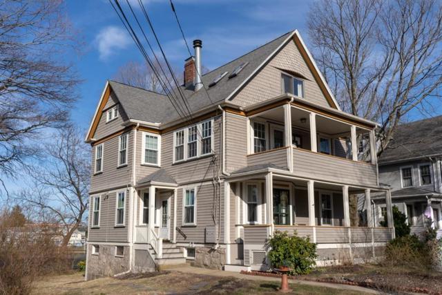 21 Jenison  Street #1, Newton, MA 02460 (MLS #72463981) :: Charlesgate Realty Group