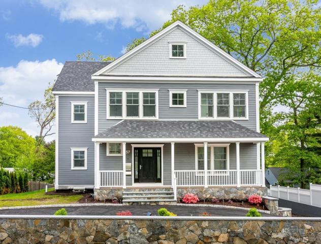 57 Brookline Street, Needham, MA 02492 (MLS #72502374) :: Apple Country Team of Keller Williams Realty