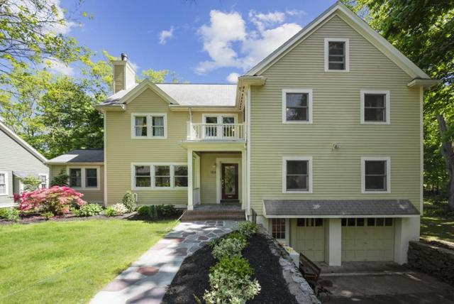 154 Stanley Rd, Newton, MA 02468 (MLS #72505211) :: The Gillach Group