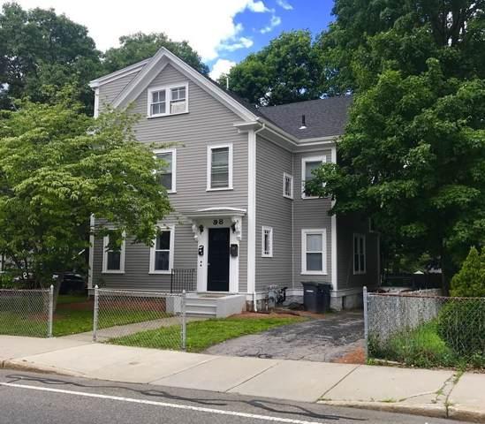 98 Cedar Street #2, Dedham, MA 02026 (MLS #72567167) :: Compass