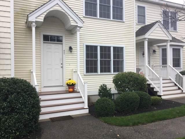 47 Turtle Brook #47, Canton, MA 02021 (MLS #72583976) :: Primary National Residential Brokerage