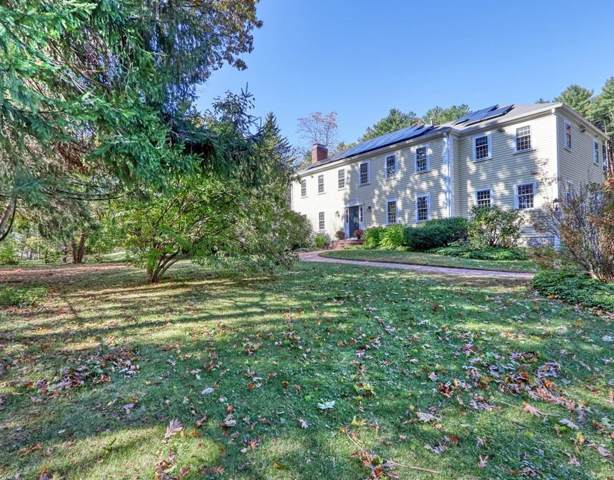 9 Old Sudbury Road, Lincoln, MA 01773 (MLS #72584405) :: The Gillach Group