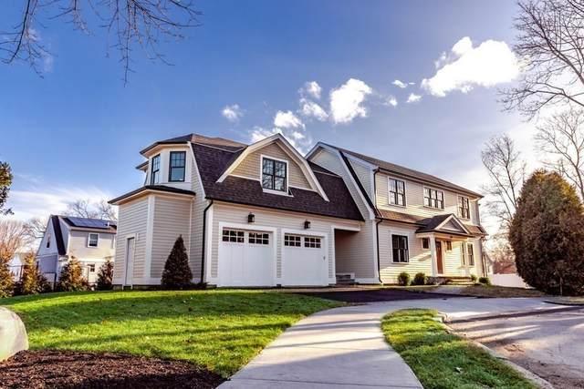 64 Dearborn Street, Newton, MA 02465 (MLS #72616546) :: Westcott Properties