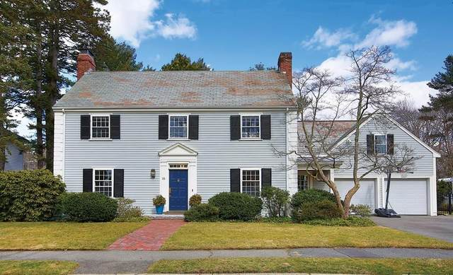 55 Fairlee Road, Newton, MA 02468 (MLS #72628088) :: The Gillach Group